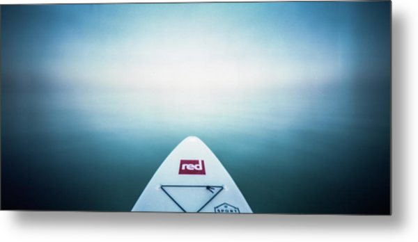 Metal Print featuring the photograph Pinhole Sup - Into The Unknown  by Will Gudgeon