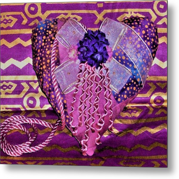 Pink Have A Heart  Metal Print