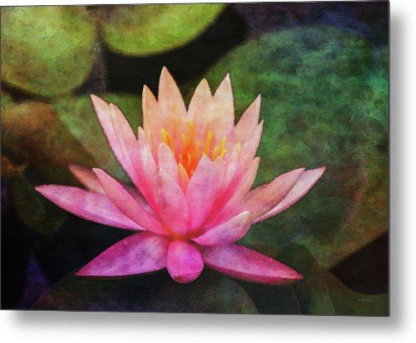Pink Lotus 4134 Idp_2 Metal Print