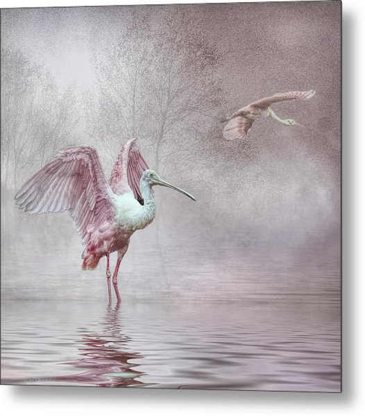 Pink Mist Metal Print