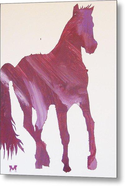Pink Pony Metal Print