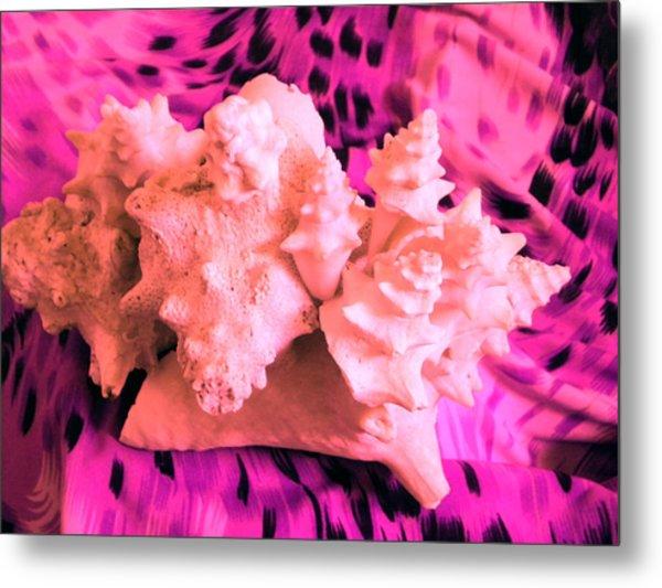 Pink Ribbon Donation Metal Print by Arlin Jules