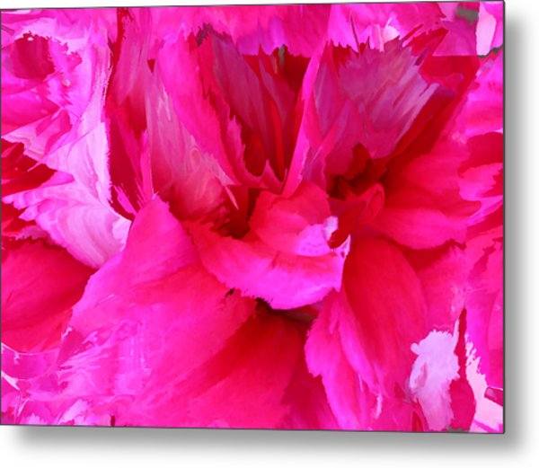 Pink Splash Metal Print
