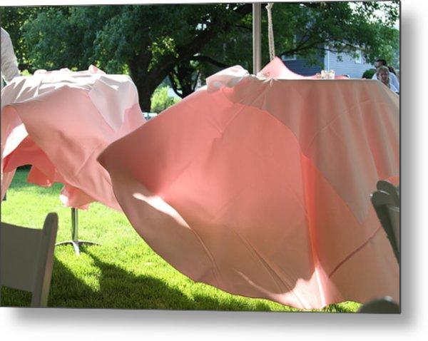 Pink Wispers Metal Print