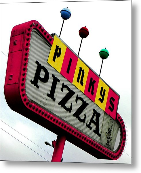 Pinky Is My Name And Pizza Is My Game Metal Print