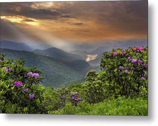 Pinnacle Sunset  Metal Print