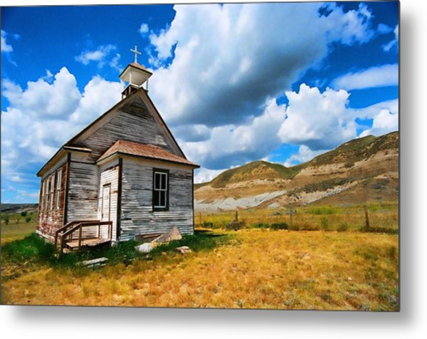Pioneer Church 1 Metal Print