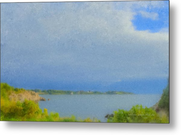 Pirate Cove Jamestown Ri Metal Print