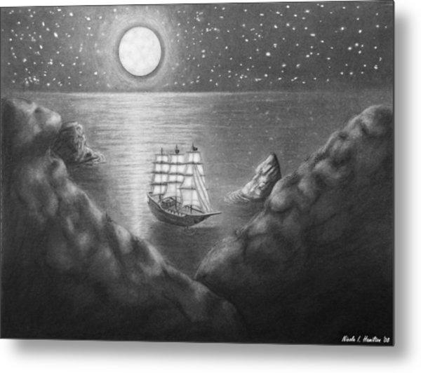 Pirates' Cove Metal Print by Nicole I Hamilton