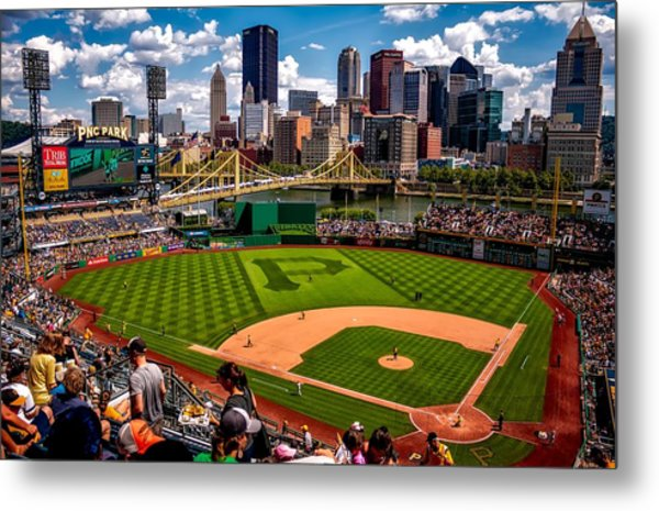 Pirates Day Game Metal Print