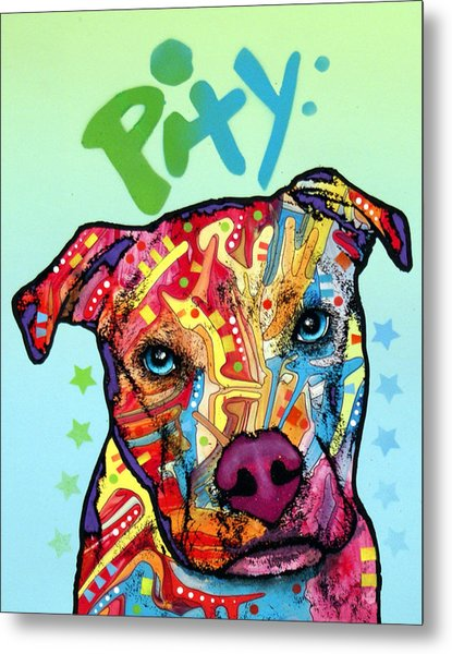 Pity Metal Print by Dean Russo Art