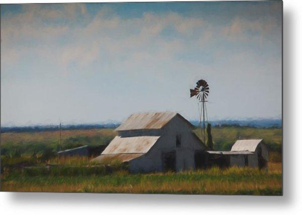 Plains Painted Barn Metal Print