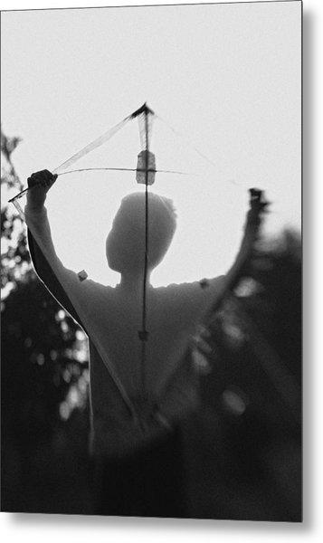 Play A Kite #2 Metal Print by Jay Satriani
