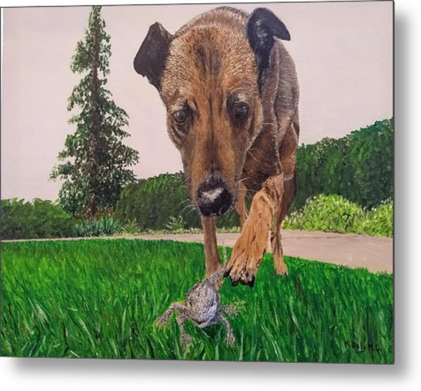Play With Me Metal Print
