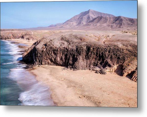 Playa Del Pozo - Lanzarote Metal Print
