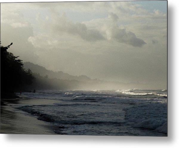 Playa Negra Beach At Sunset In Costa Rica Metal Print