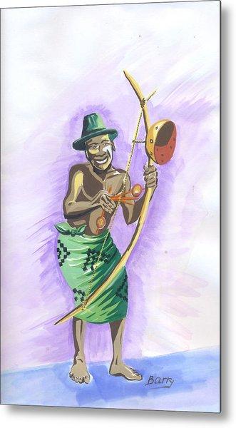 Player Umuduri From Rwanda Metal Print