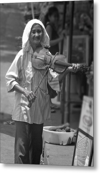 Playing For Food 3 Metal Print by Jez C Self