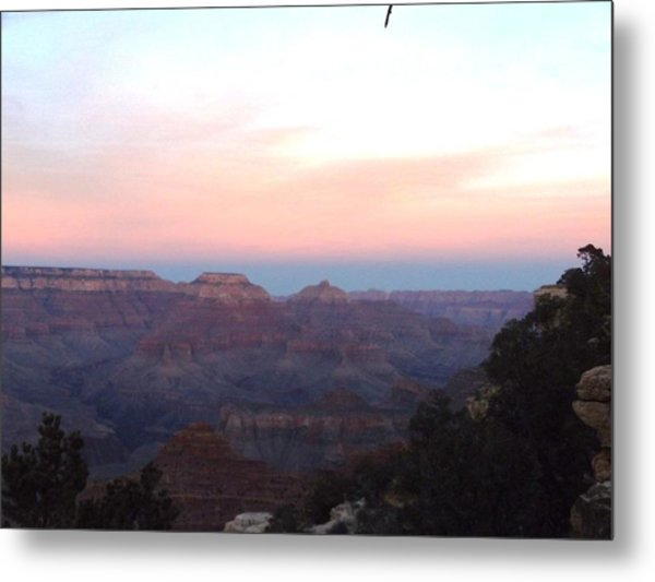 Pleasant Evening At The Canyon Metal Print