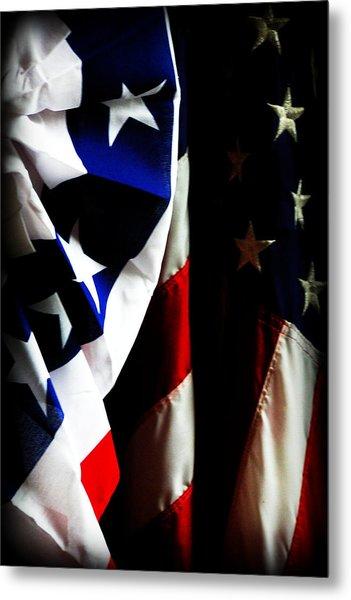 Pledge To The Usa Metal Print
