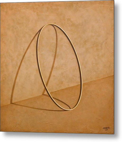 Plenty Of Emptiness Metal Print by Horacio Cardozo