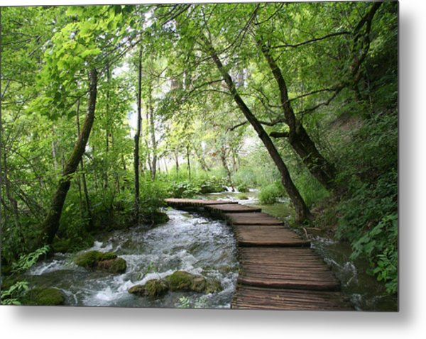 Plitvice Lakes National Park Metal Print