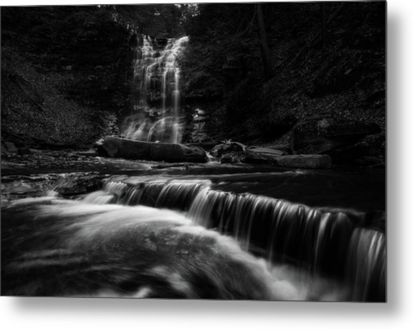 Plotter Kill Falls Metal Print