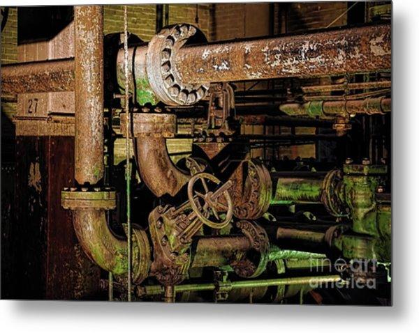 Plumbing Metal Print