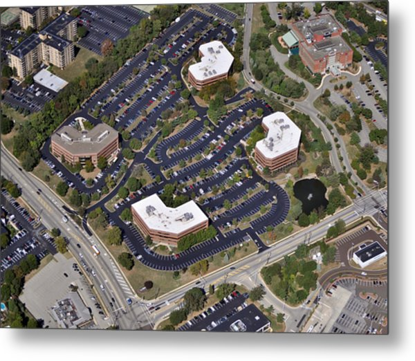 Plymouth Meeting Executive Center Metal Print by Duncan Pearson