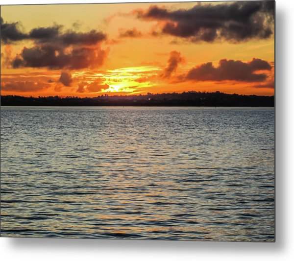 Point Chevalier Beach, Auckland, New Zealand Metal Print