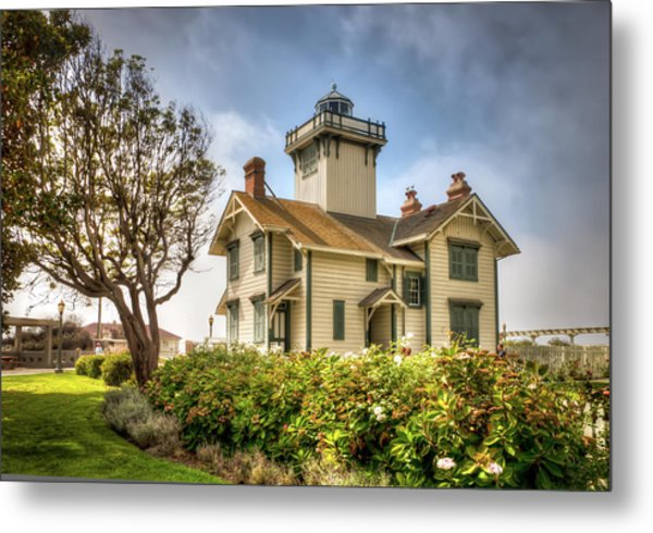 Point Fermin Lighthouse Metal Print