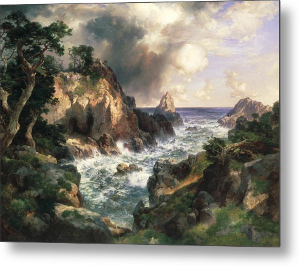 Point Lobos Monterey California Metal Print