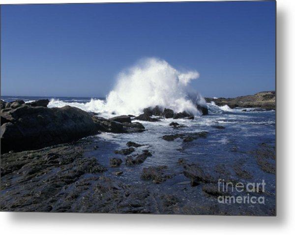 Point Lobos Seascape 2 Metal Print