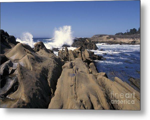 Point Lobos Seascape 3 Metal Print