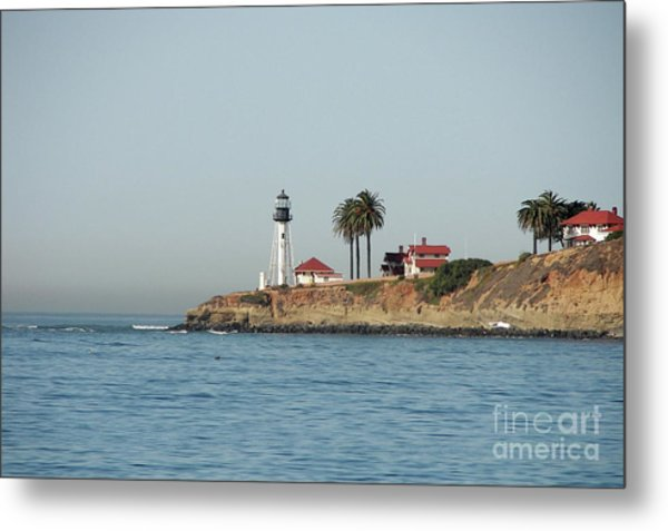 Point Loma Lower Lighthouse Metal Print