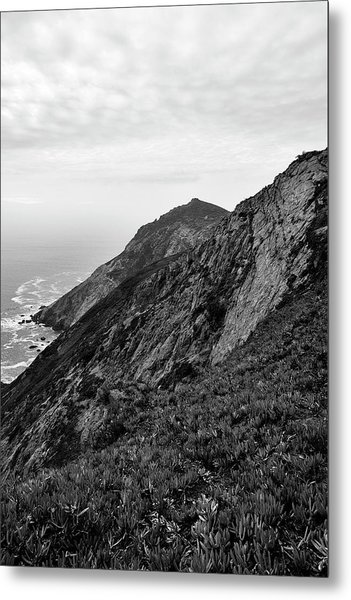 Point Reyes II Bw Metal Print