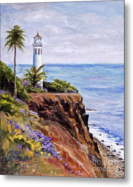 Point Vicente Palos Verdes Metal Print