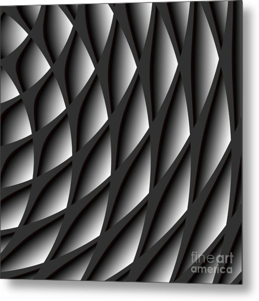 Points Abstract Colour Choice Metal Print
