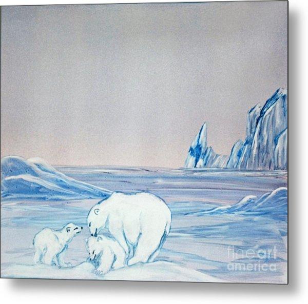 Polar Ice Metal Print