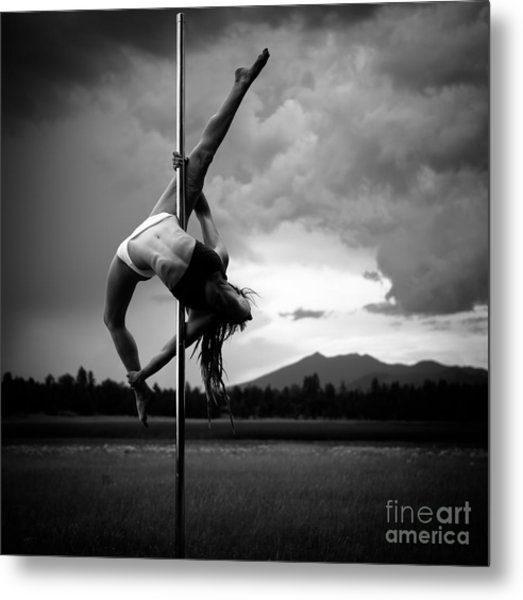 Pole Dance 1 Metal Print