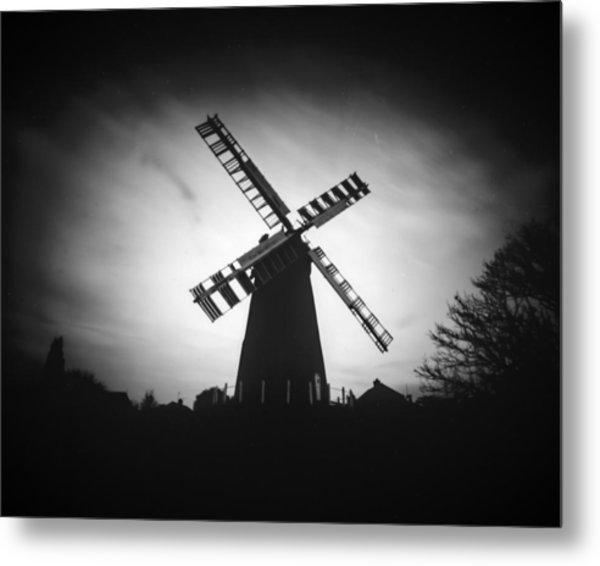Polegate Windmill Metal Print