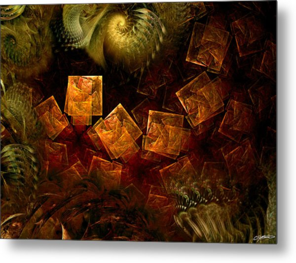 Political Dissonance Metal Print