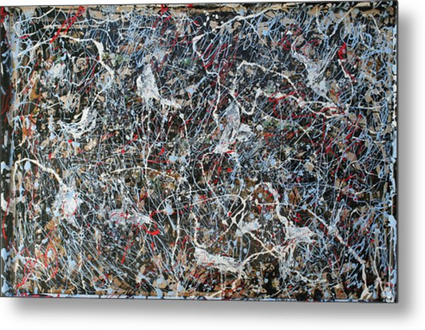 Pollock's Ghosts Metal Print by Biagio Civale