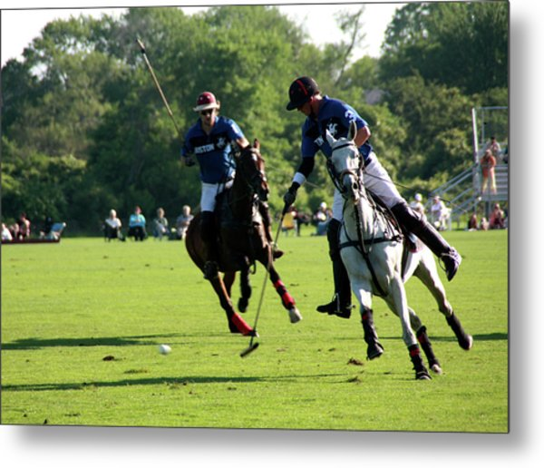 Polo Match Metal Print