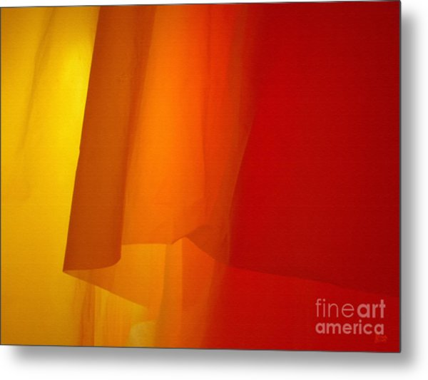 Poncho Abstract 5 Metal Print