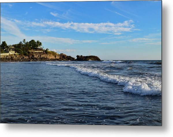 Poneloya Beach Before Sunset Metal Print