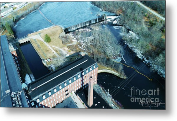 Ponemah Mill And Dam Metal Print