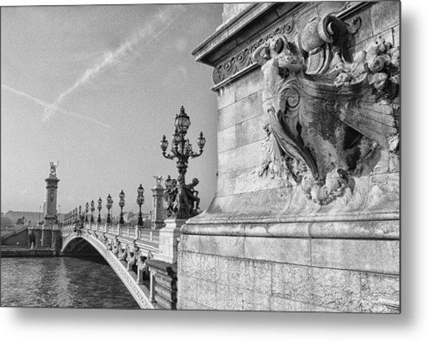 Pont Alexandre Metal Print