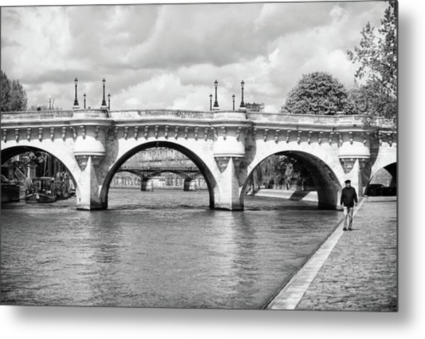 Pont Neuf, Paris Metal Print