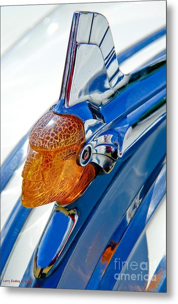 Pontiac Art Deco Hood Ornament Metal Print